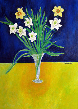 Narcissi by Vladimir Kezerashvili