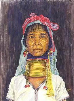 Narga woman - Race in Burma by Aung Min Min