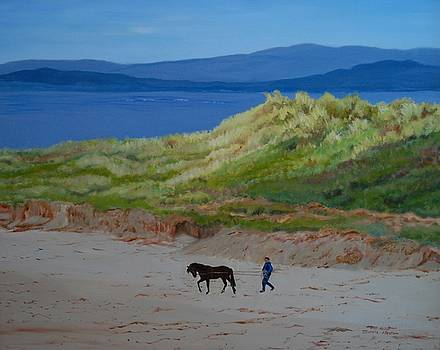 Narin, County Donegal, Ireland by Jeannie Allerton