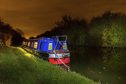 ReDi Fotografie -  Narrowboat light painting