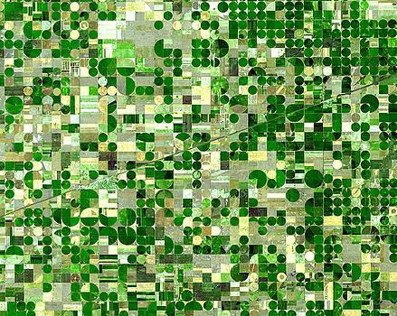 NASA Image-Finney County, Kansas-2 by Brian Pflanz