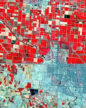 NASA Image-US-Mexico Border-2 by Brian Pflanz