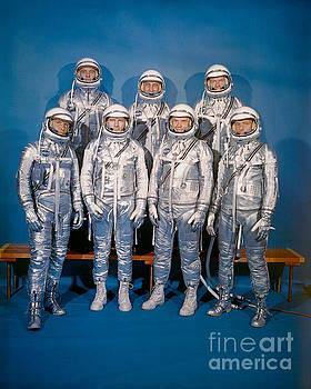 R Muirhead Art - NASA Mercury Program Astronauts