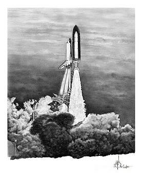 NASA Space Shuttle by Murphy Elliott