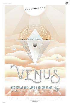 Erik Paul - NASA Venus Poster Art Visions of the Future