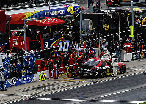 Nascar #1 in the pit by Seth Solesbee
