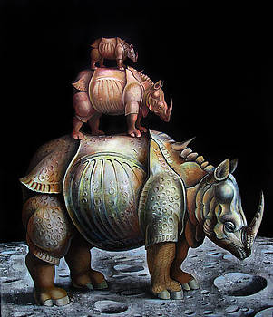 Nashorn by Valentin Rusin