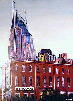 Nashville from River by George Grace
