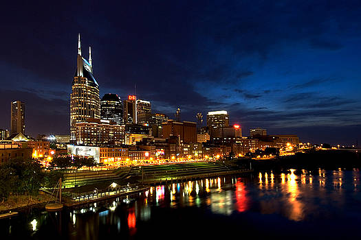 Nashville Skyline by Mark Currier