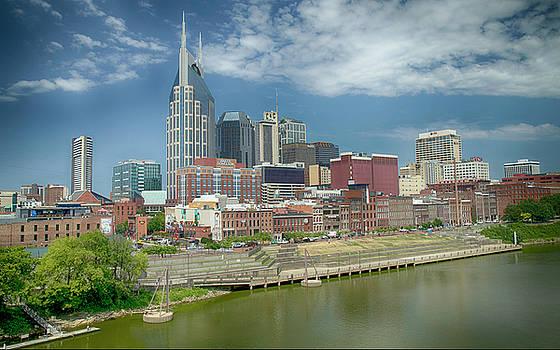 Nashville, Tennessee Skyline by Julie Underwood