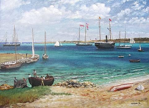 Nassau, Bahamas by Michael Winston