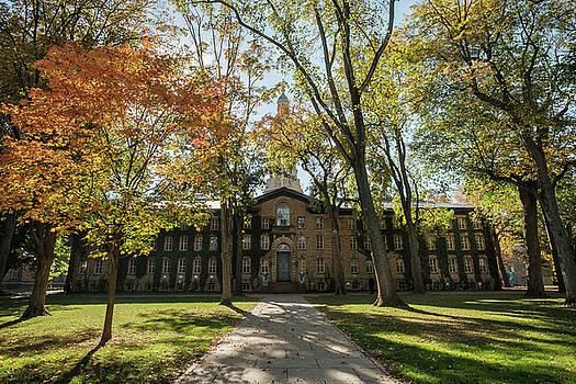 Nassau Hall Princeton University by Glenn DiPaola