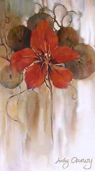 Nastutium by Judy Osiowy