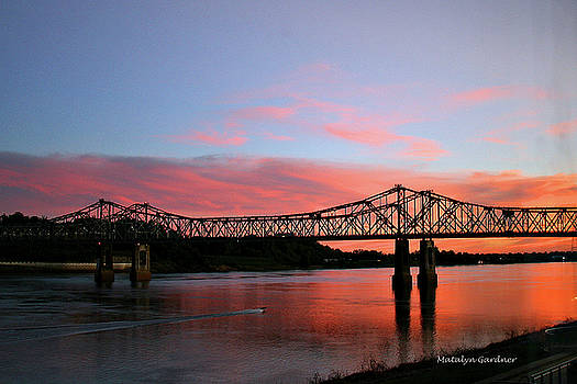 Natchez Sunset by Matalyn Gardner