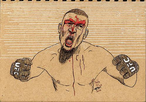 Nate Diaz by Frank Middleton