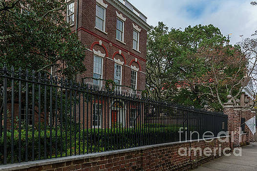 Nathaniel Russell House Brick Mansion by Dale Powell