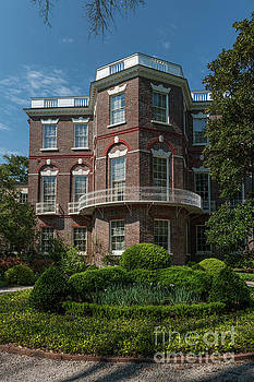 Nathaniel Russell House in Charleston SC  by Dale Powell