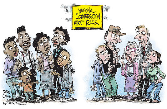 National Conversation About Race by Daryl Cagle