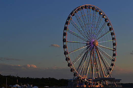National Harbor-Capital Wheel VIII by Mikyong Rodgers