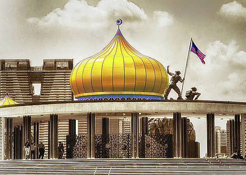 National Monument of Malaysia by Joseph Hollingsworth