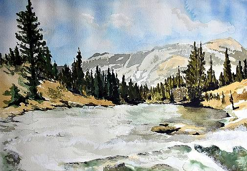 National Parks landscape by Susan Moore
