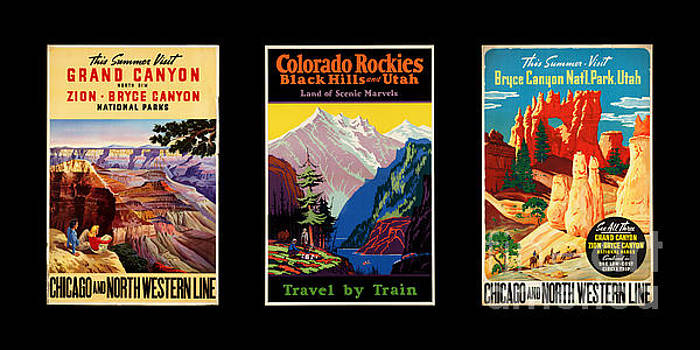 Delphimages Photo Creations - National parks posters