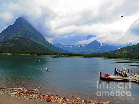 National Parks. Serenity of McDonald by Ausra Huntington nee Paulauskaite