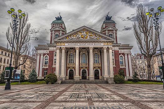 National Theatre, Sofia, Bulgaria by Julian Popov