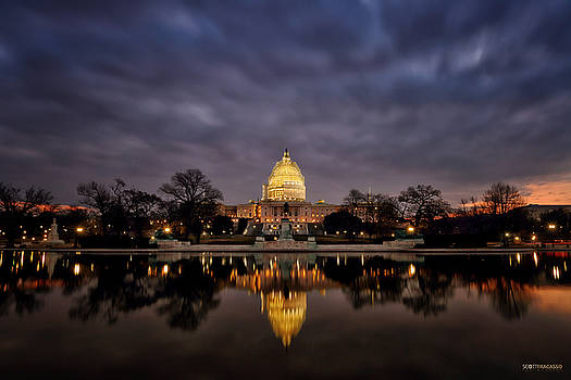 Nation's Capitol at Night by Scott Fracasso