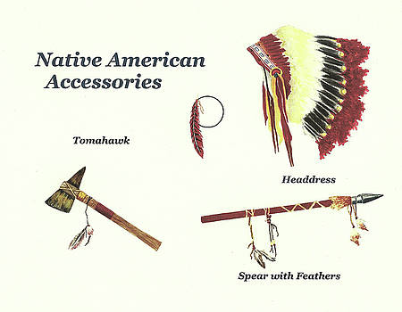 Native American Accessories by Michael Vigliotti