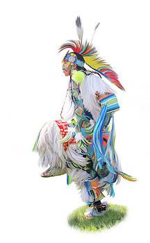 Native American Dancer by Ramona Murdock