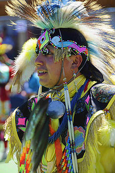 Native American Dancer by Keith Lovejoy