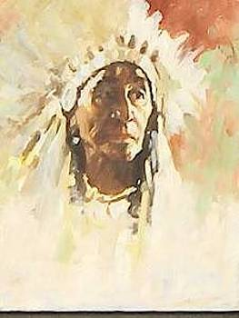 Native American by Perry  Rubenstein