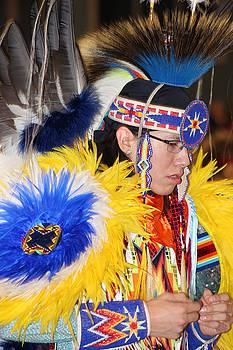 Native Child-2 by Audrey Robillard