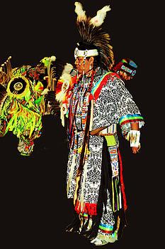 Native Dancer by Audrey Robillard