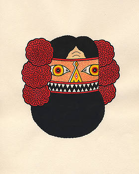 Native Mask by Matt Leines