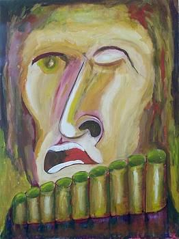 Native Musician by Jorge Diez