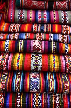 James Brunker - Native South American Weavings