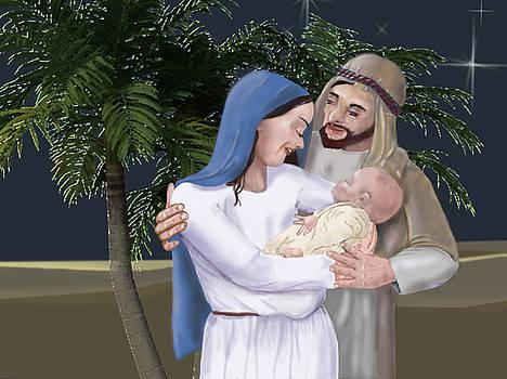 Nativity by Dorothy Riley
