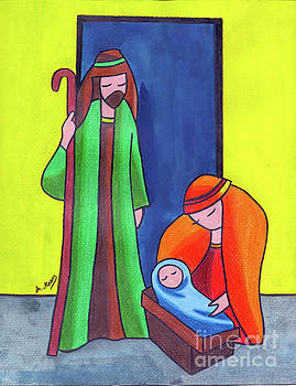 Nativity by Eman Allam