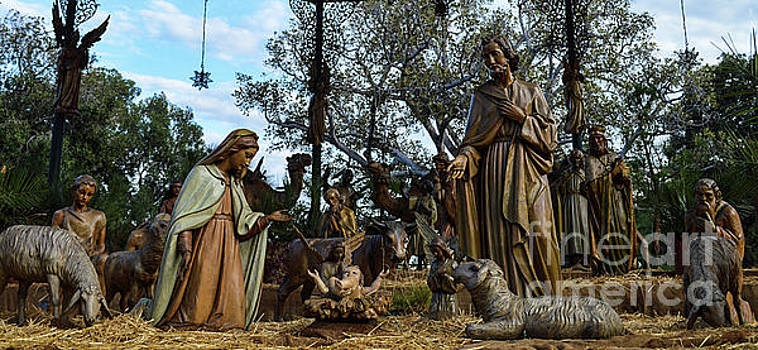 Nativity Scene 1 by Scott Parker