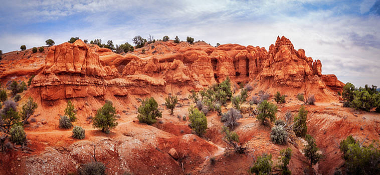 Natural Arch at Kodachrome Basin State Park by Daniela Constantinescu