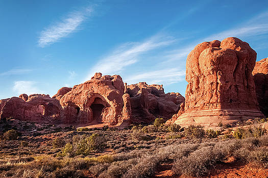 Natural Monuments in Arches national Park by Daniela Constantinescu