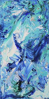Naturals - Azurite - V by Julie Turner
