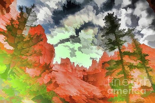Chuck Kuhn - Nature Bryce Canyon Paint