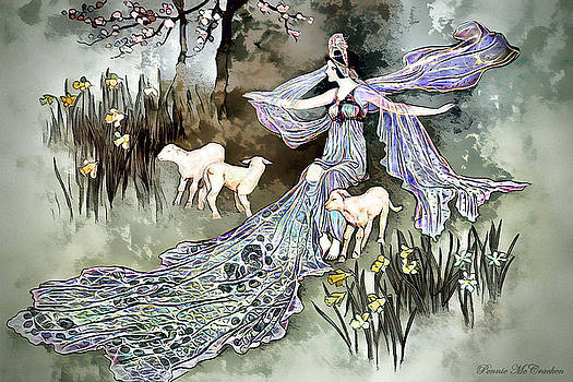Nature Goddess by Pennie McCracken