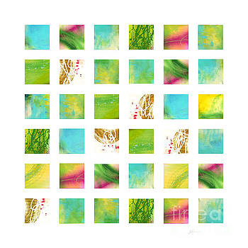 Nature Grid 2 by Pamela Johnson Design