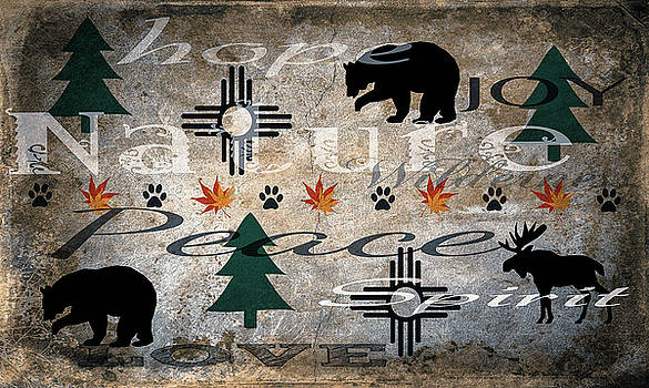 Nature Love Hope Joy by Garett Gabriel