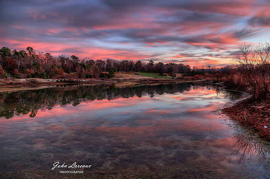 Nature Reserve Reflections by John Loreaux
