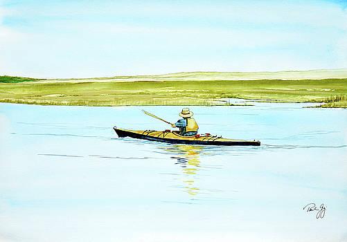 Nauset Kayaker by Paul Gaj